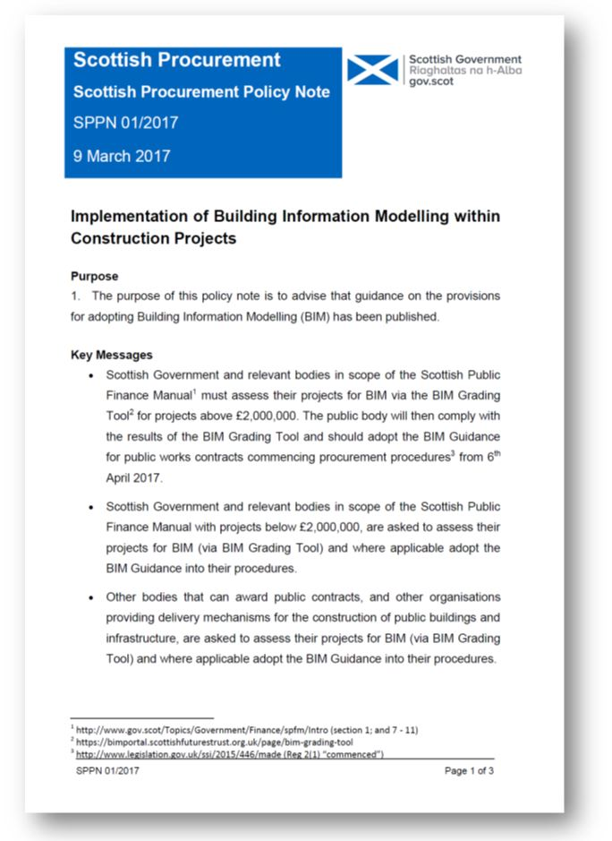 Procurement policy bim level 2 guidance which projects are covered by sppn 117 pronofoot35fo Choice Image